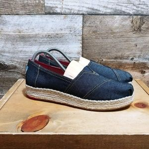 Toms Denim Look Classic Slip On